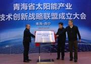 青海省太阳能产业技术创新战略联盟成立