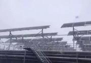 如何在下雪天进行电站运维呢?