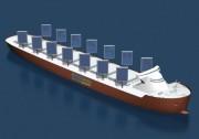 首批装备壹定发国际娱乐硬帆的货船 准备投入长期海上试航