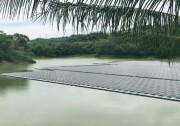 """阳光电源漂浮系统化身""""浮坚强"""",安全度过枯水期与台风期"""