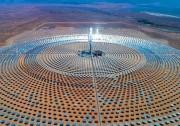 山东电建三公司承建的摩洛哥150MW塔式光热电站首次并网一次成功
