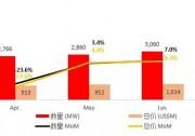 海关权威数据!中国光伏组件6月出口量达3060MW 印度市场跃居第一!