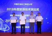 """熊猫绿能荣获""""2018年度清洁能源先锋奖"""""""