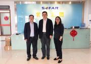 深圳市工信局局长贾兴东莅临首航集团调研高科技企业疫情期间出口情况