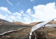 高原上建起光伏电站 助力雅江村民稳定增收