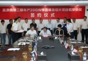 晶澳科技与曲靖市政府签订20GW单晶拉棒及切片项目投资框架协议